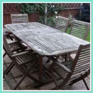 How to Paint Garden Furniture with Pastel Colours -