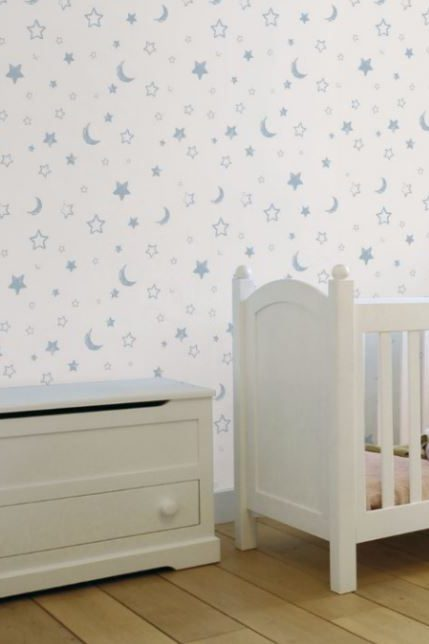 This Wallpaper From The Winne Pooh Range Is Ideal For A Nursery Due To Light Background Would Work Well In Smaller Room Too